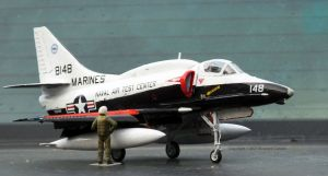 Hasegawa Douglas A4-4M Skyhawk with Caracal decals