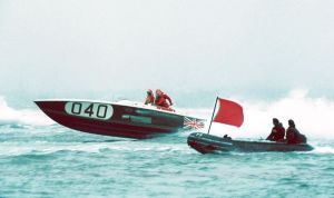 Offshore powerboat Maltese Magnum Twin