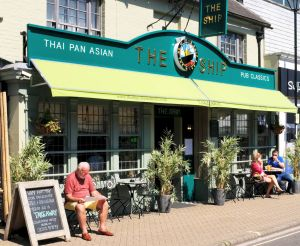 The Ship in the High street