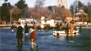 Walking on the quay in early 1963