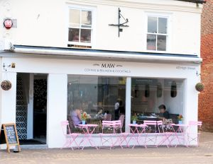 Maw cafe in August 2021