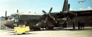 Lockheed AC-130E in the Vietnam war