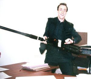 Fifty calibre gun