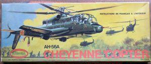 Aurora 1/72nd scale Lockheed AH-56 Cheyenne box art