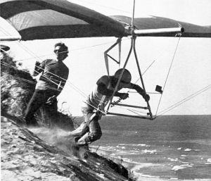 Mike Markowski launching in the Eagle III