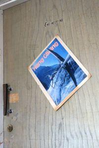 Office door labelled 'Engineering'
